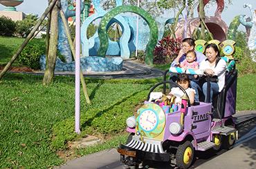 麗寶樂園-探索樂園簡介-陸上樂園簡介時光旅行