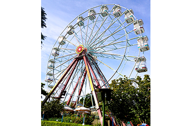 麗寶樂園-探索樂園簡介-陸上樂園簡介摩天輪