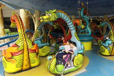 麗寶樂園-探索樂園簡介-陸上樂園簡介轉轉笛諾